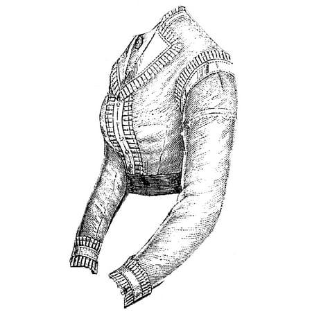 Renaissance Blouse Pattern (Sewing Pattern: 1869 Lawn Blouse Waist)
