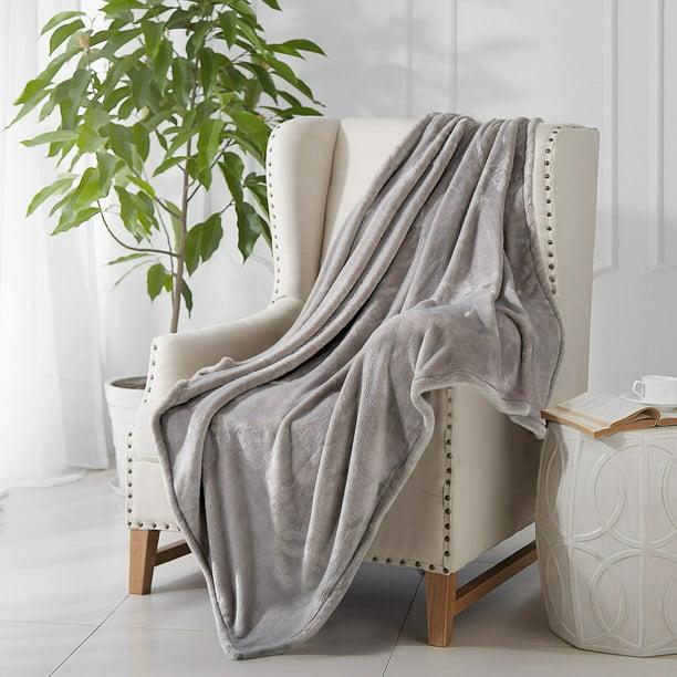 Reafort Ultra Soft Flannel Fleece Royal Plush Velvet All Season
