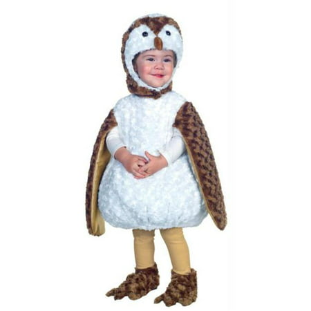 Costumes For All Occasions UR26077TMD White Barn Owl Toddler 18-24 - Owl Costume For Toddler
