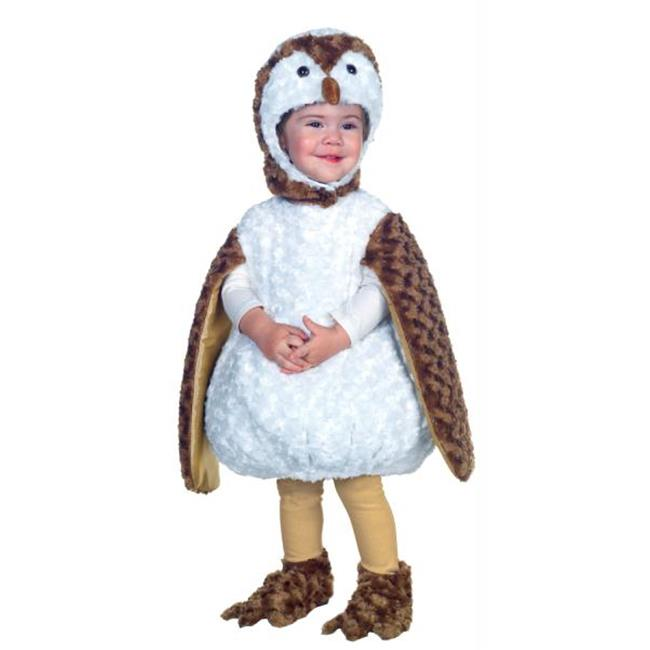 Costumes For All Occasions UR26077TMD White Barn Owl Toddler 18-24