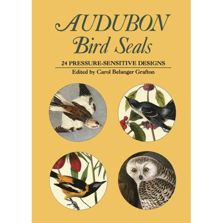 Pocket-Size Sticker Collections: Audubon Bird Seals: 24 Pressure-Sensitive Designs (Paperback)