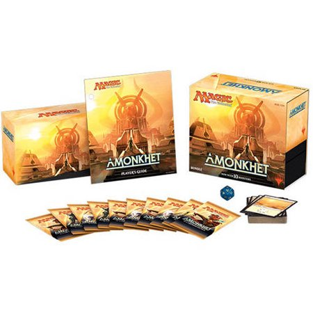 Wizards MTG Magic The Gathering 2017 Amonkhet Bundle: 10 booster packs +