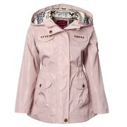 Pink Platinum Girls' 7-16 Hooded Anorak Jacket