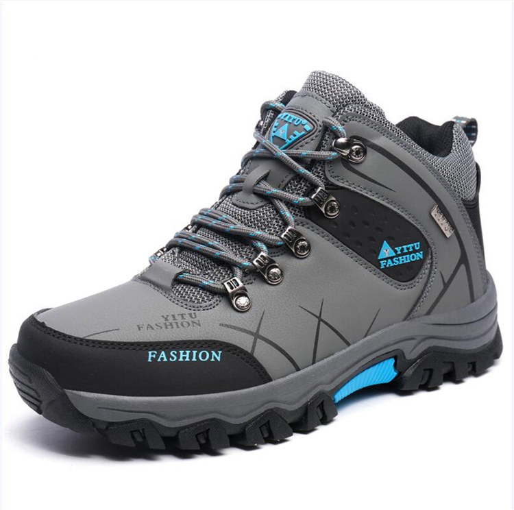 Meigar Mens High Top Trail Trekking Hiking Boot Waterproof Athletic Outdoor Safety Shoe