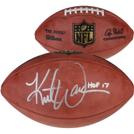 Kurt Warner St. Louis Rams Autographed Pro Football with