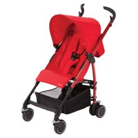 Maxi-Cosi Kaia Lightweight Stroller with Large Basket, Intense Red