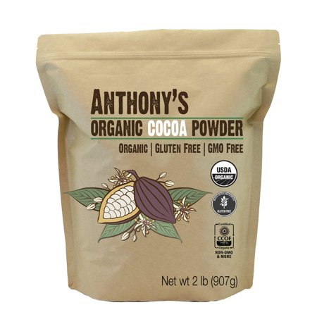 Anthony's Organic Cocoa Powder, 2 lb Bag