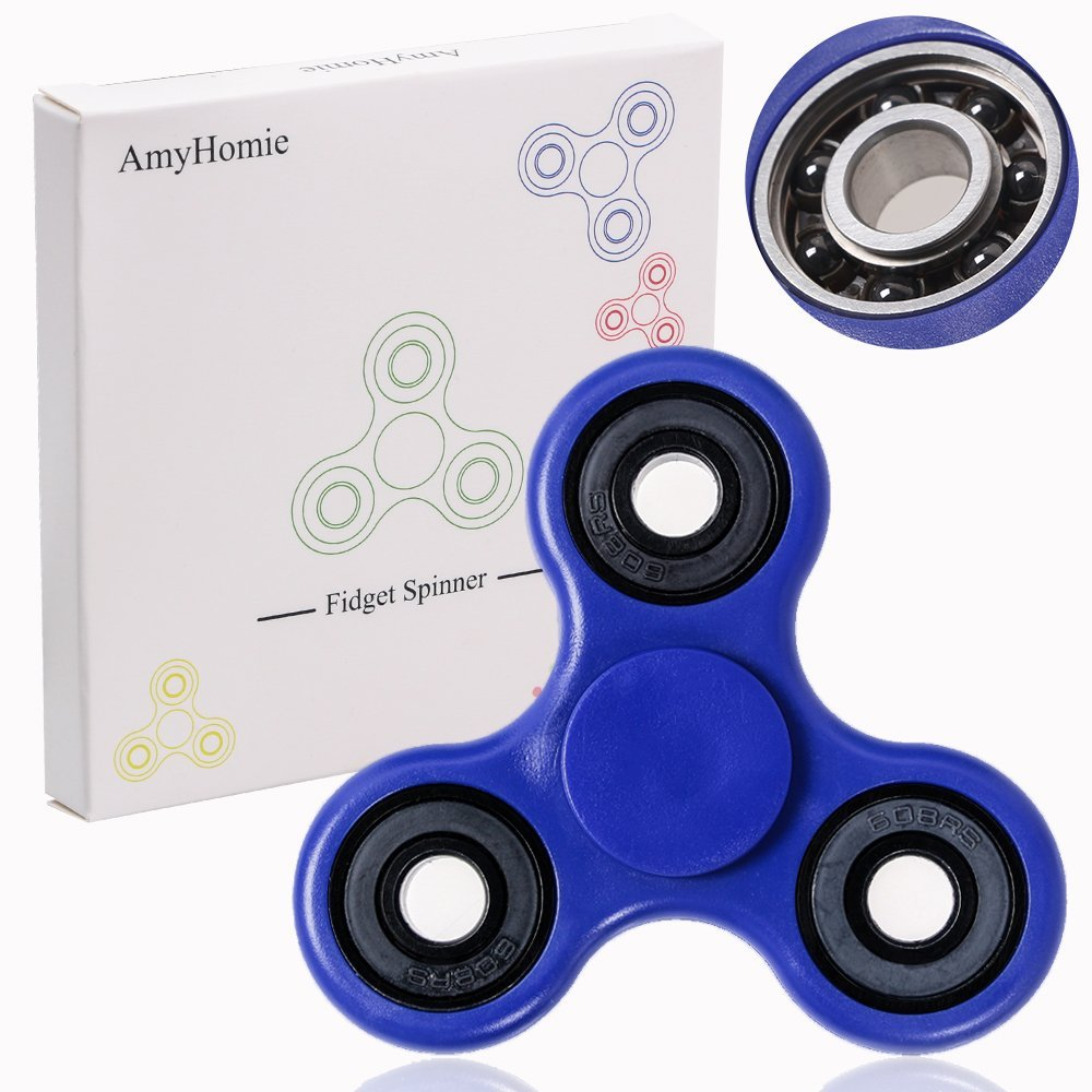 Fidget Spinner, AmyHomie Tri Fidget Hand Spinner, Ultra Fast Bearings Fidget  Toys for Adults and Kids - Walmart.com