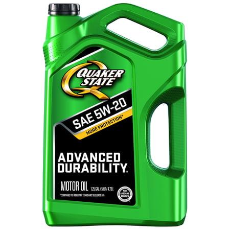 Quaker state conventional 5w 20 peak performance for Quaker state conventional motor oil