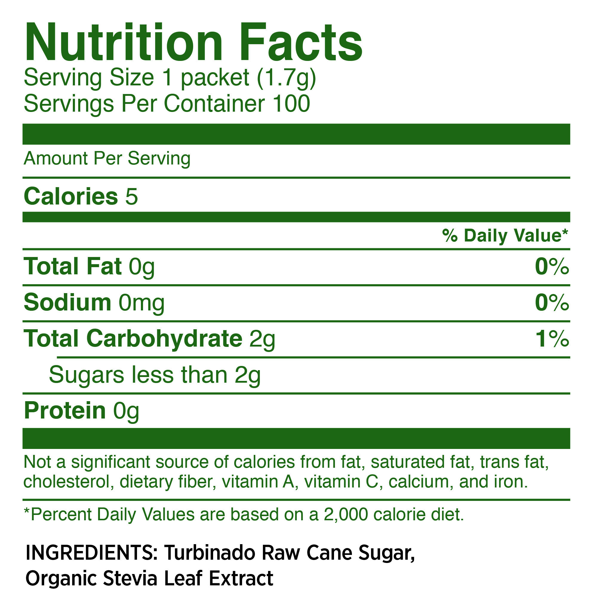 (100 Packets) Whole Earth Turbinado Raw Cane Sugar and Stevia Sweetener - Walmart.com