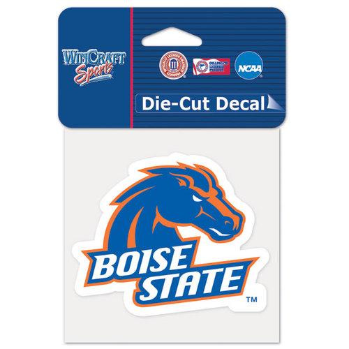 NCAA - Boise State Broncos 4x4 Die Cut Decal