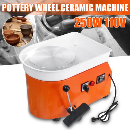 110V Electric Pottery Wheel Machine Ceramic Work Clay Art Craft DIY (Haeger Potteries Carmel Ceramic)