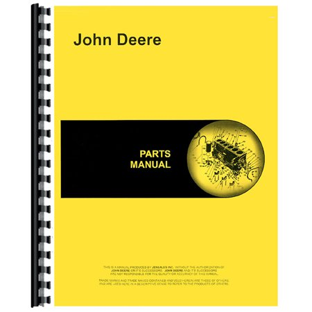 - New Parts Manual For John Deere 60 Rotary Mower (60-Inch)
