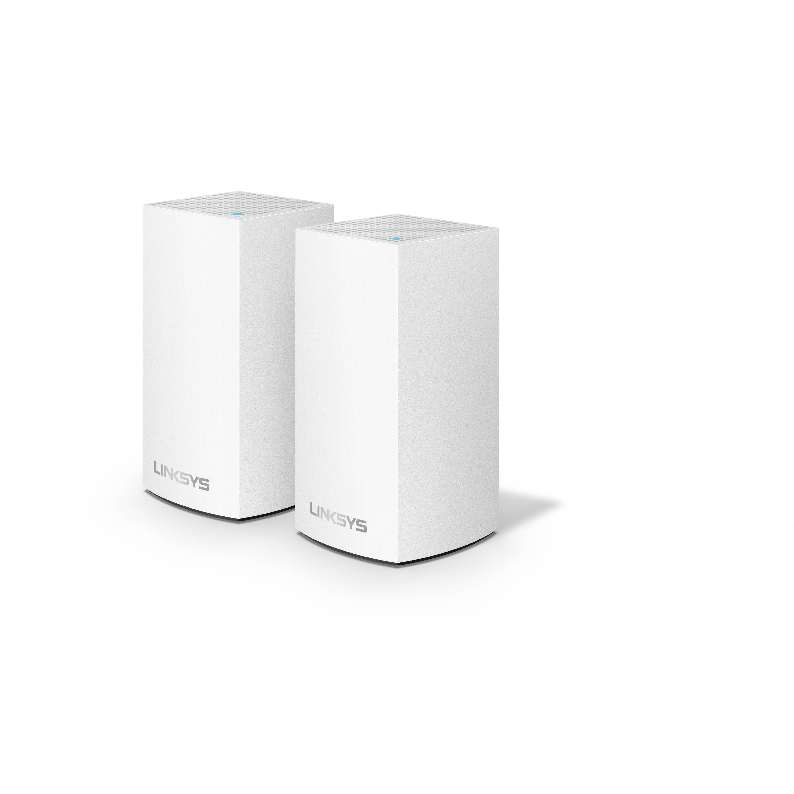Linksys Velop AC2400 Whole Home WiFi Intelligent Mesh System, 2 Pack White, Easy Setup, Maximize WiFi Range & Speed for all your devices, Walmart Exclusive!