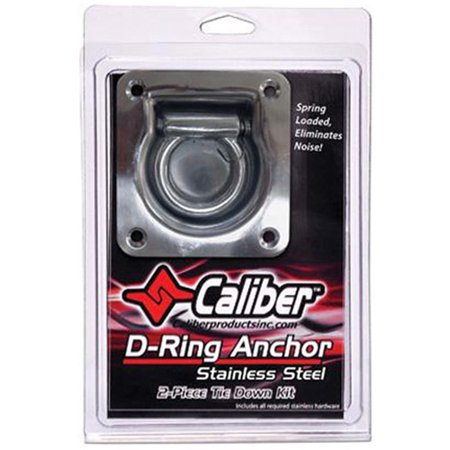 CALIBER 13520 ZINC COATED TRAILER D-RING KIT