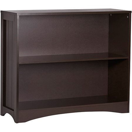 Riverridge Kids 2 Shelf Bookcase Espresso