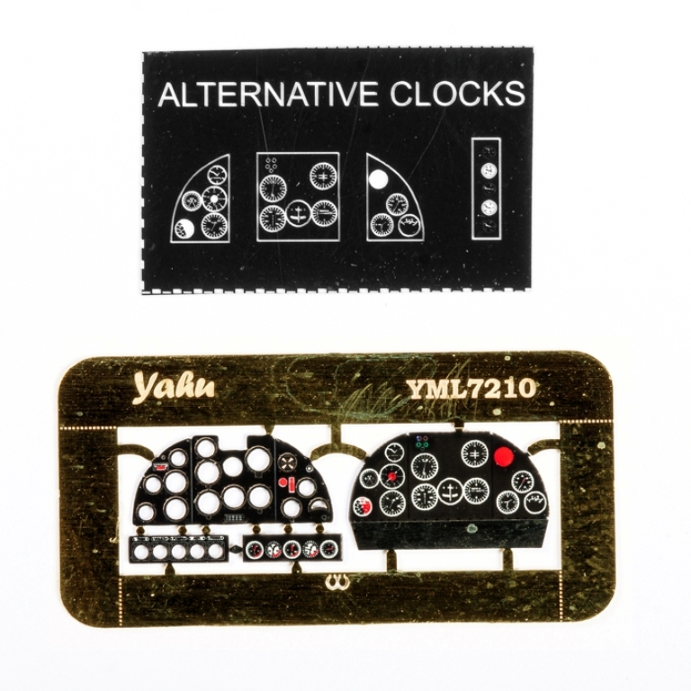 Yahu Model 1:72 I.R.A 81 Color Instrument PE for A-Model Parc Kit #YML7210