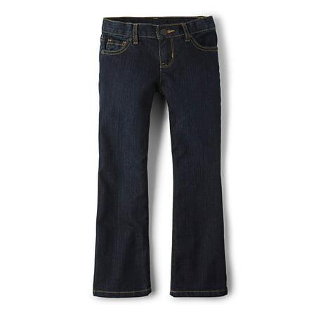 The Children'S Place Bootcut Dark Wash Denim Jeans (Little Girls, Big Girls & Big Girls Plus) Childrens Place Denim Jeans