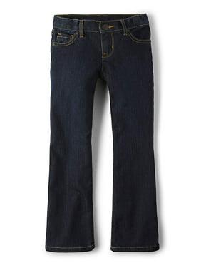 The Children'S Place Bootcut Dark Wash Denim Jeans (Little Girls, Big Girls & Big Girls Plus)