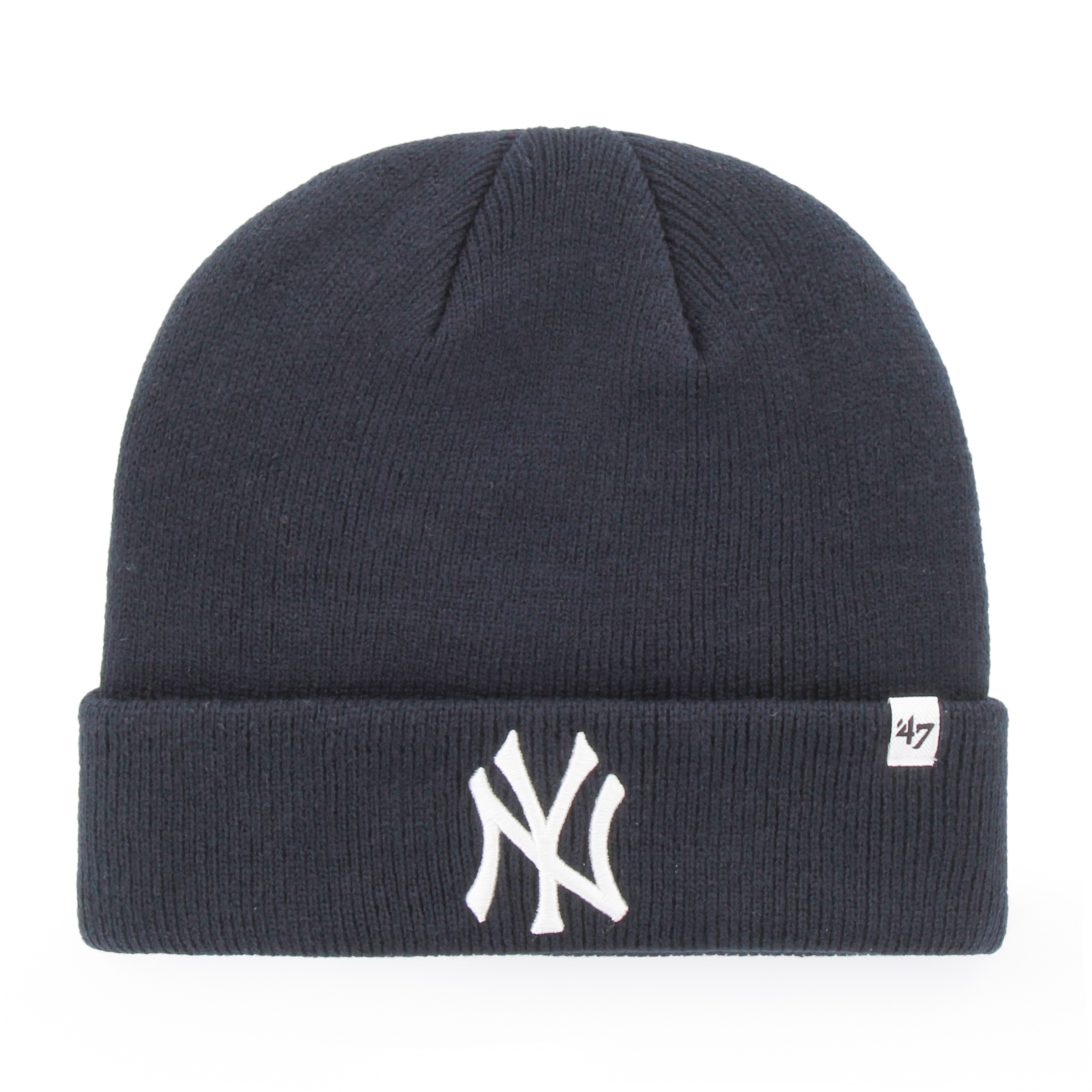 New York Yankees MLB Raised Cuffed Knit Beanie 735386a6d50
