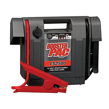 Booster PAC ES2500 1100 Peak AMP 12 Volt Power Supply Jump Starter
