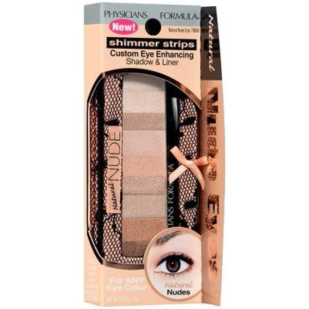 Shimmer Strip Eye Shadow Nude Collection -Natural Nude Eyes (Pack of 2), For a more beautiful you! By Physicians Formula From USA