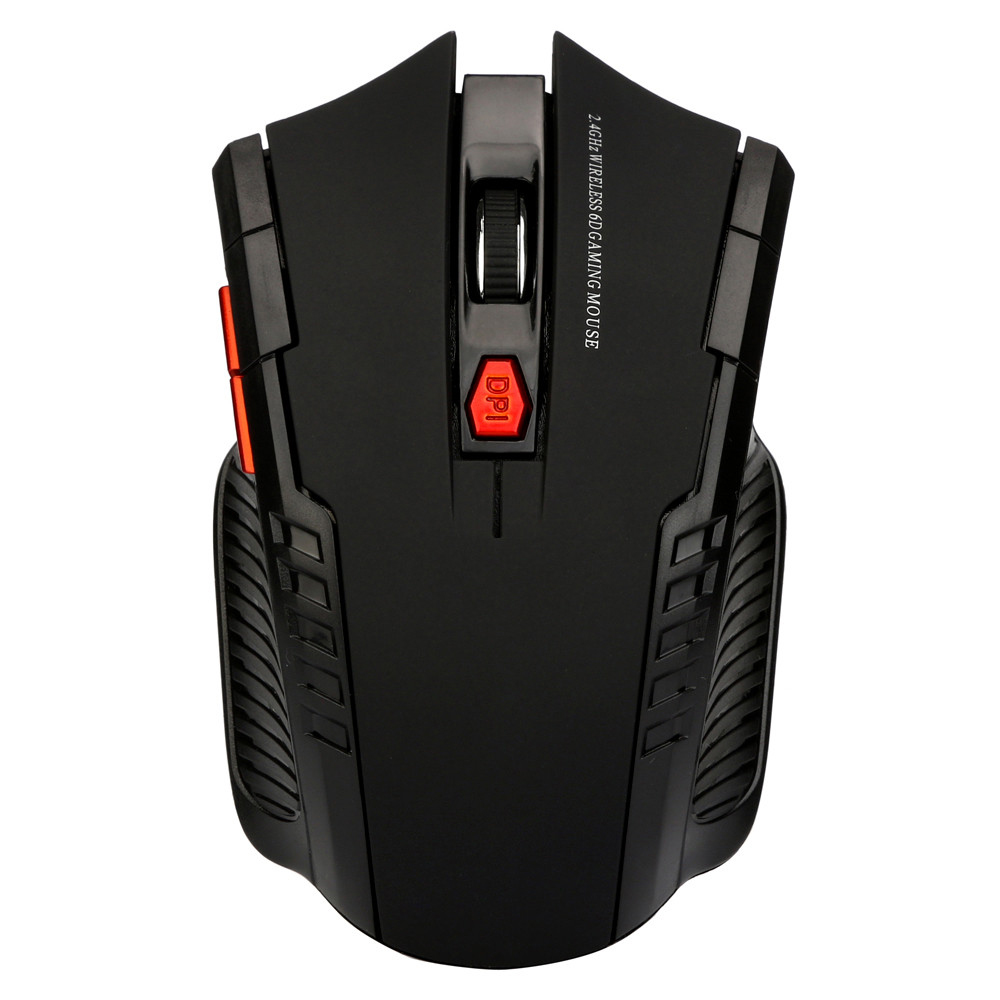 2.4Ghz Mini Wireless Optical Gaming Mouse Scroll Mice USB Receiver For PC Laptop