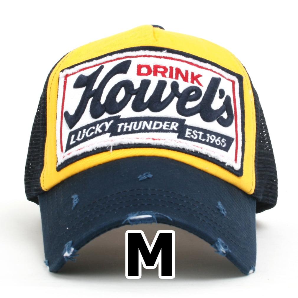 ililily Howel/'s Distressed Vintage Cotton Baseball Mesh Cap Snapback Trucker