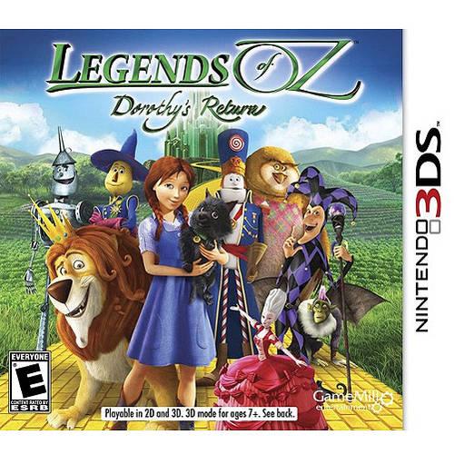 Legends of Oz: Dorothy's Return (Nintendo 3DS) - Pre-Owned