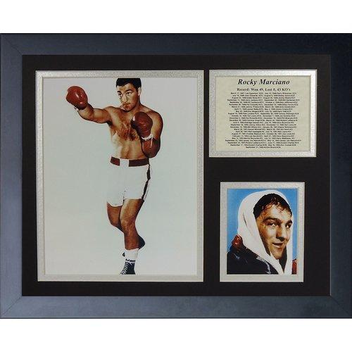 Legends Never Die Rocky Marciano Framed Memorabilia