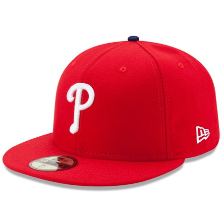 Philadelphia Phillies New Era Game Authentic Collection On-Field 59FIFTY Fitted Hat - Red