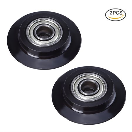 TOOLTOO Tubing Cutter Replacement Wheels Steel Pipe Cutter Wheels Tube Cutter Wheel, Perfect for Cutting Copper, Aluminum, PVC and Stainless Steel Tubes, Black