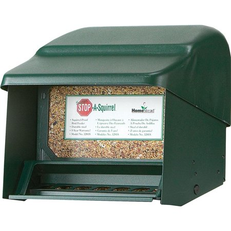 Homestead Super Stop-A-Squirrel Bird Feeder (Green River Texture) - 3201S