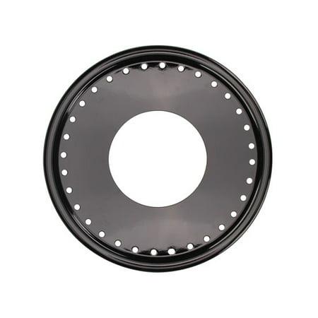 AERO 15 Inch Chrome Mudbuster Replacement Beadlock Ring/Mudcover Combo