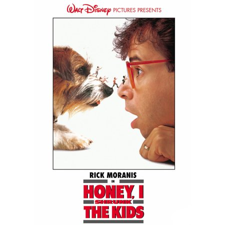 Honey, I Shrunk The Kids (DVD) - Halloween Disney Movies List