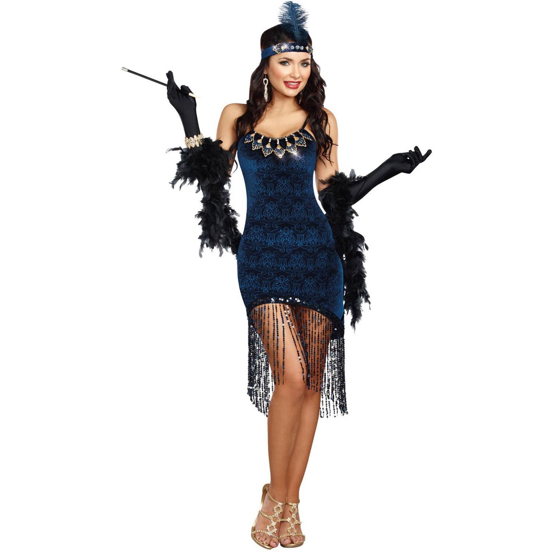 Downton Doll Flapper Women's Adult Halloween Costume