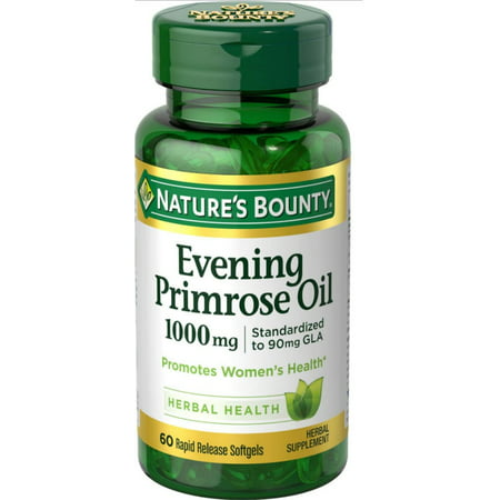 Nature's Bounty Evening Primrose Oil 1000 mg Softgels 60 ea (Efa Gold Evening Primrose Oil)