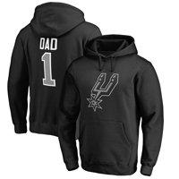 Product Image San Antonio Spurs Fanatics Branded Big   Tall  1 Dad Pullover  Hoodie - Black - d6b7a8376