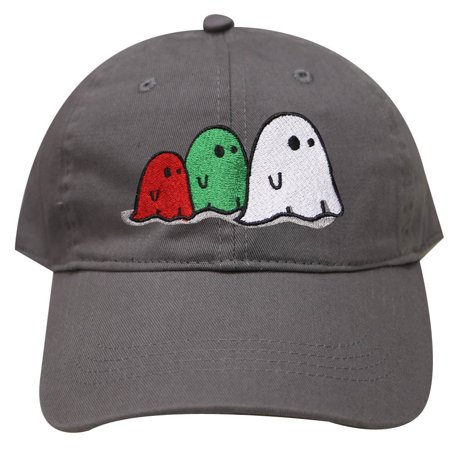 City Hunter C104 Halloween Ghost Family Cotton Baseball Caps - Dark Gray