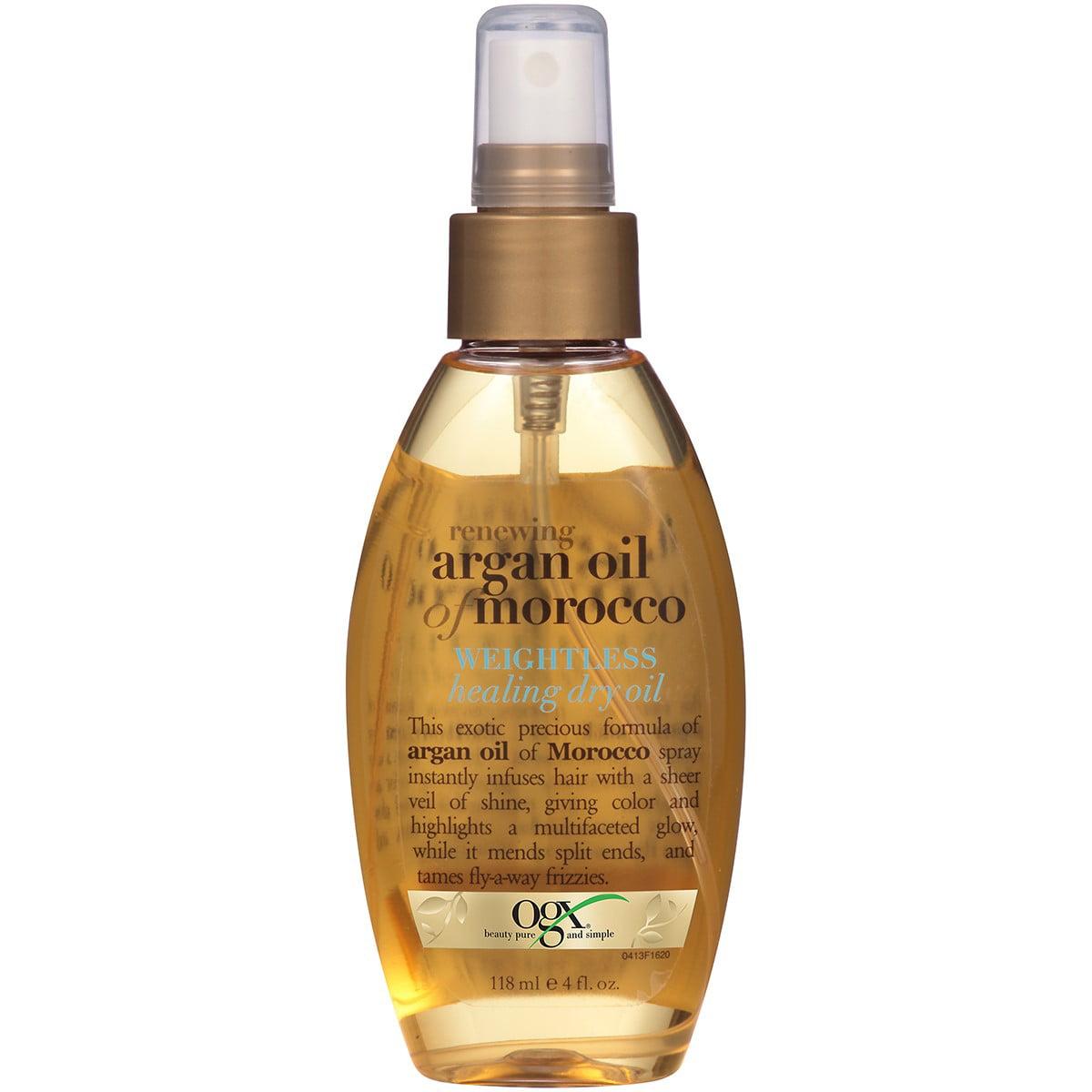 OGX Renewing Argan Oil of Morocco Weightless Healing Dry Oil, 4 Oz