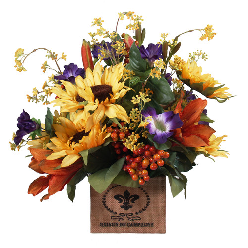 Creative Displays, Inc. Sunflower and Lily Box
