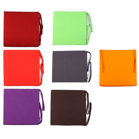 40*40*2cm Dinning Chair Seat Pad Cushion Mat with Ties For Home Garden Patio Office Outdoor