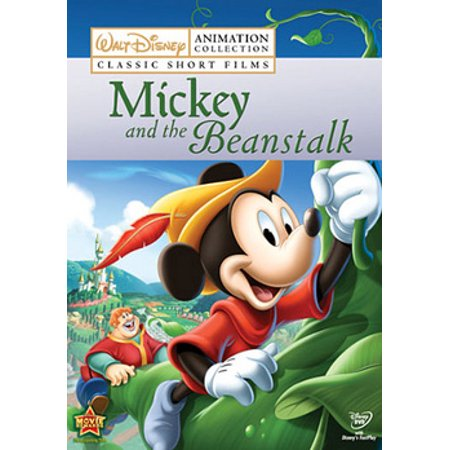 Disney Classic Short Films: Mickey & the Beanstalk (DVD) - Family Films For Halloween