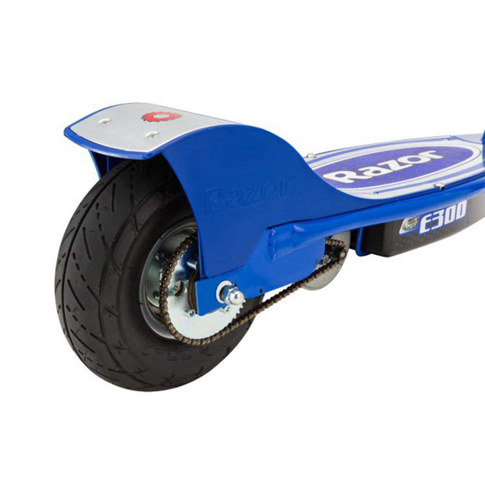 Razor E300 Electric 24 Volt Rechargeable Motorized Ride On Kids Scooter Blue Walmart Com Walmart Com