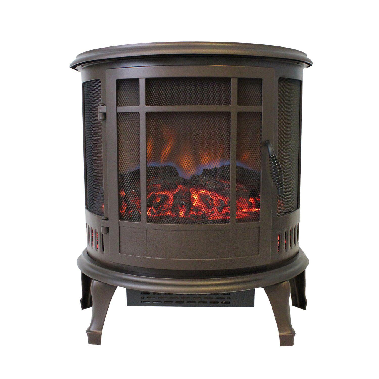 Comfort Glow Claremont Electric Stove, Bronze