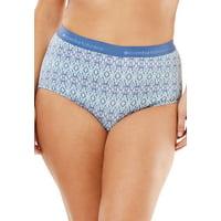 Comfort Choice Plus Size Comfort Choice Stretch Cotton Brief 2-pack Underwear