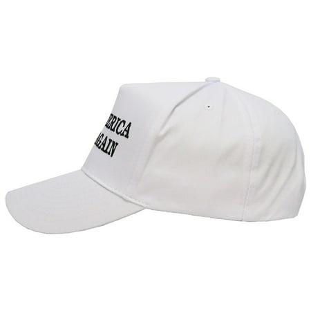 4a0a1d1f2b9 Donald Trump Hat Cap | Make America Great Again USA (Red, Black, White) -  Walmart.com