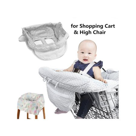 Astonishing Portable Toddler Baby Shopping Trolley Cart Seat Pad High Chair Cover With Adjustable Safety Harness Gmtry Best Dining Table And Chair Ideas Images Gmtryco