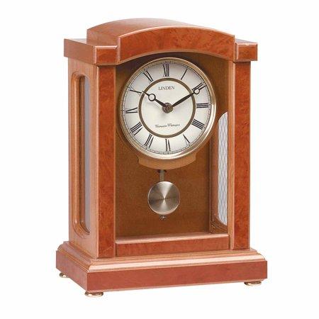 Clocks Walnut Wooden Parisian Pedulum Clock | Renovators Supply