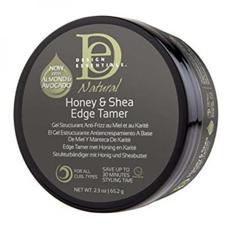 Design Essentials Natural Honey & Shea Firmer Hold Edge Tamer w/Almond & Avocado Gel 2.3oz